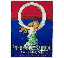 Leonetto Cappiello Affiche Pneu Baudou Photographic Print