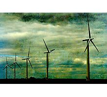 The Wind farm, Oxfordshire Photographic Print