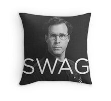 Will Ferrell Swagger Throw Pillow