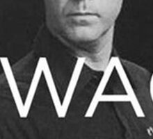 Will Ferrell Swagger Sticker