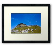 Pen-Y-Ghent, Horton In Ribblesdale, Yorkshire Dales, UK. Framed Print