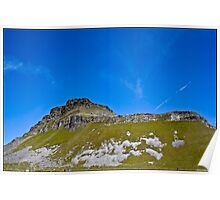 Pen-Y-Ghent, Horton In Ribblesdale, Yorkshire Dales, UK. Poster