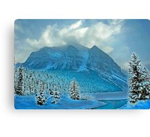 Winter Wonderland Alberta Canada Canvas Print
