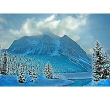 Winter Wonderland Alberta Canada Photographic Print
