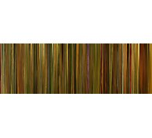 Moviebarcode: Amélie (2001) Photographic Print
