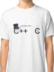 C++ v.s C   Programming language Classic T-Shirt