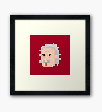 Albert Face Framed Print