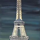 Eiffel Tower by Dawn  Hawkins