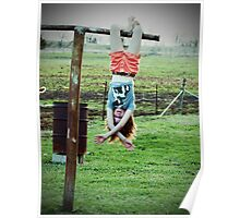 My world Upside-Down-- Paola Kansas Poster