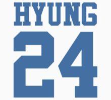 BTS/Bangtan Boys 'HYUNG 24'  One Piece - Short Sleeve