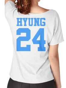 BTS/Bangtan Boys 'HYUNG 24'  Women's Relaxed Fit T-Shirt
