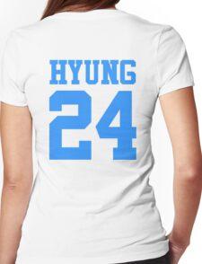 BTS/Bangtan Boys 'HYUNG 24'  Womens Fitted T-Shirt