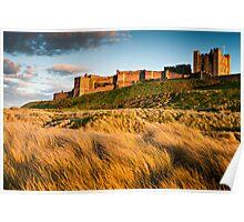 Bamburgh Castle, Northumberland. UK Poster