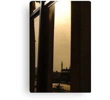 Reflective minaret Canvas Print