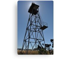 WWII Watch tower, Truganina Munitions Storage Facility Canvas Print