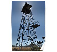 WWII Watch tower, Truganina Munitions Storage Facility Poster