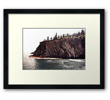 Watch Your Step Framed Print