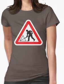 Warning #11 Womens Fitted T-Shirt