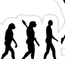 Evolution Pole vault Sticker