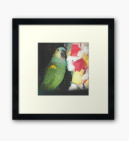 I JUST NEED SOMEONE TO LOVE (ME) Framed Print