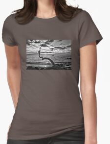 Serenity At Last Womens Fitted T-Shirt
