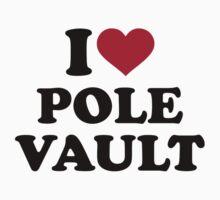 I love Pole vault One Piece - Short Sleeve