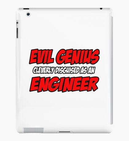 Evil Genius .. Engineer iPad Case/Skin