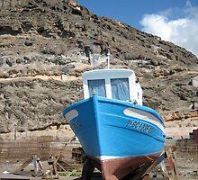 small boat , spain by annet goetheer