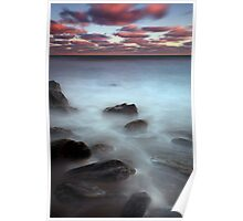 Rocky Bay Sunset- Ireland Poster