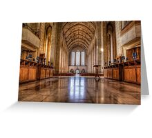 Guildford Cathedral Greeting Card