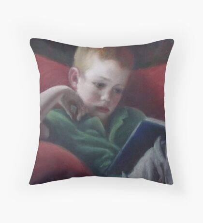 Absorbed I Throw Pillow