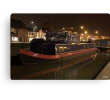 bagguette barge Canvas Print
