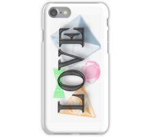 Love neon jewels  iPhone Case/Skin