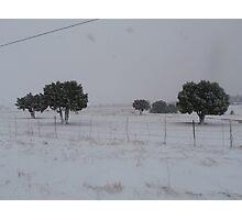 Pleasant Valley Winter 3 Photographic Print