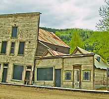 Dawson City Buildings by Yukondick