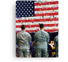 The Tribute Canvas Print