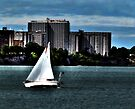Cleveland Lakefront by Marcia Rubin