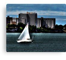 Cleveland Lakefront Canvas Print