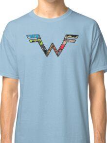 W Dragonfight-cooltexture B&WCarnival of Doooom w/Text Classic T-Shirt