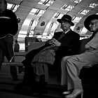 Couple at Charles de Gaulle by Andy Armstrong