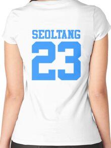 BTS/Bangtan Boys 'SEOLTANG 23'  Women's Fitted Scoop T-Shirt