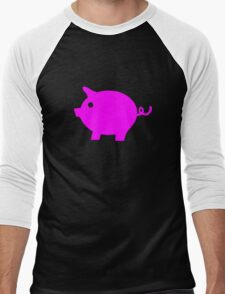 Pig Men's Baseball ¾ T-Shirt