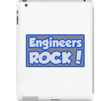 Engineers Rock! iPad Case/Skin