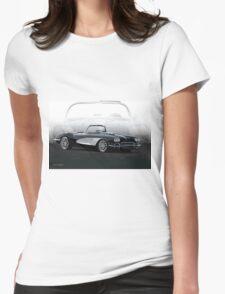 1958 Chevrolet Corvette 'Composite I' Womens Fitted T-Shirt