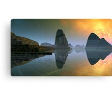 Impossible Dawn Canvas Print