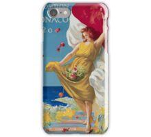 Leonetto Cappiello Affiche PLM Exposition Monaco iPhone Case/Skin