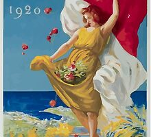 Leonetto Cappiello Affiche PLM Exposition Monaco by wetdryvac