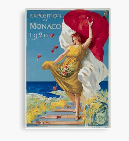 Leonetto Cappiello Affiche PLM Exposition Monaco Canvas Print