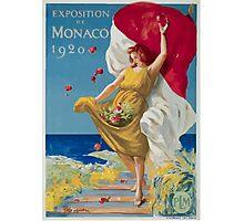 Leonetto Cappiello Affiche PLM Exposition Monaco Photographic Print