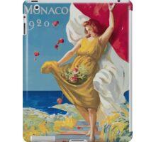 Leonetto Cappiello Affiche PLM Exposition Monaco iPad Case/Skin
